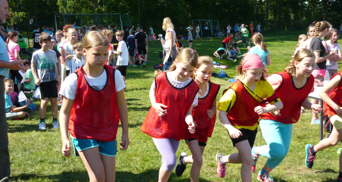 Biathlonmeisterschaft der Scheeßeler Schulen 5.6.2015